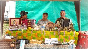 Brocante markt in Merana