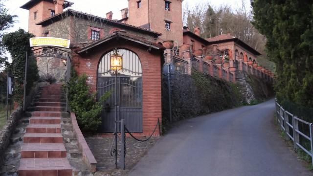 Uit eten in de Castello del Fungo