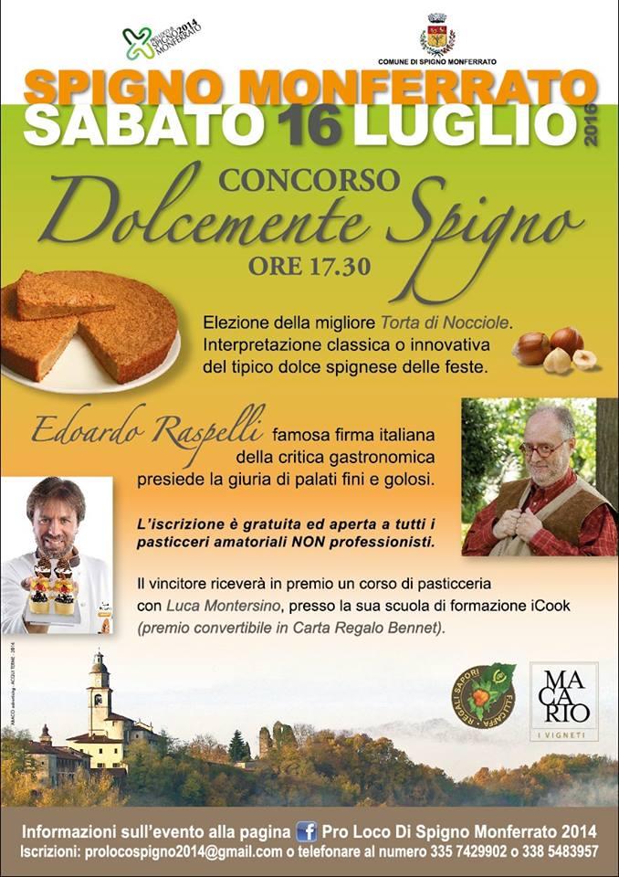 notentaartenbakwedstrijd Spigno Monferrato