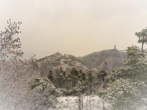 agriturismo verdita in de sneeuw