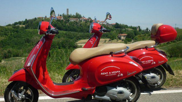 Vespa vakantie Piemonte / Ligurië