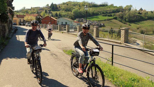 Enogastronomische ebike tocht in Zuid-Piemonte