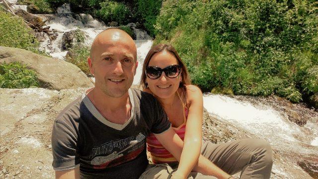 Watervallen wandeling in de bergen van Piemonte