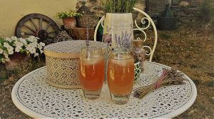 Recept : lavendellimonade
