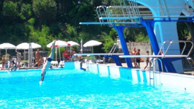 De zwembaden van Acqui Terme