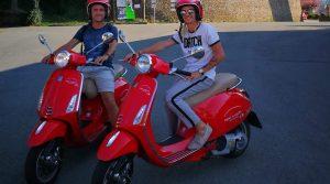 Mijn vijftigste verjaardag en vespa rijden in Italië