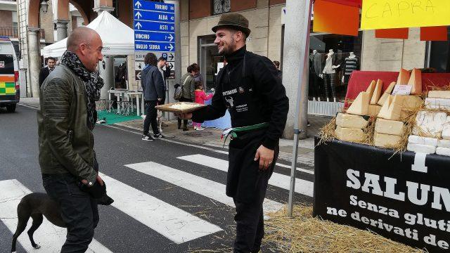 Feestmarkt in Nizza Monferrato