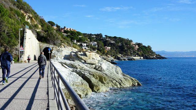 één van de mooiste wandel- en fietspaden in Italië