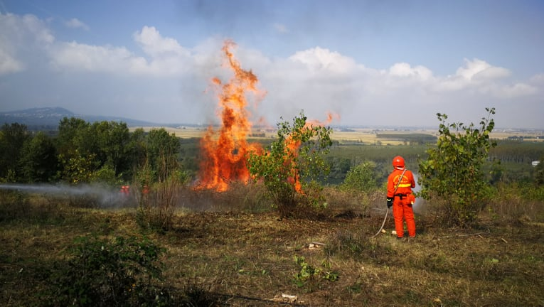 vrijwillige brandweer oefening 3