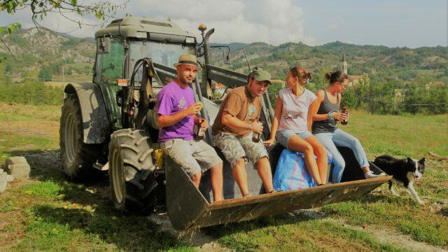 De boeren van de Bormida-vallei